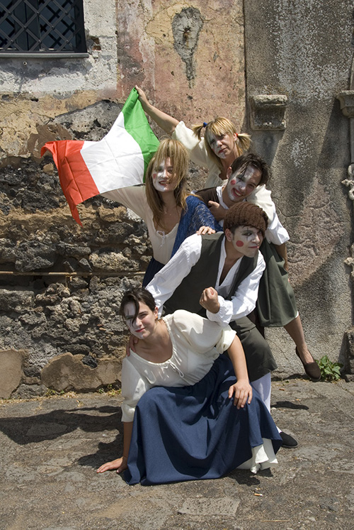 cast SICILIA 1860 con laura De Palma